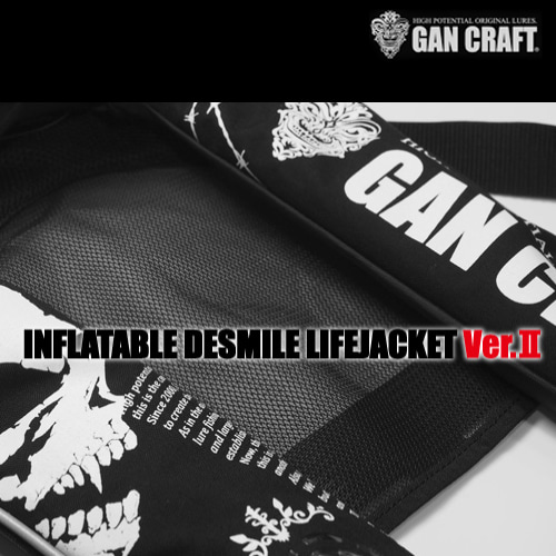 간크래프트 INFLATABLE DESMILE LIFEJACKET Ver.Ⅱ GAN-2220RS